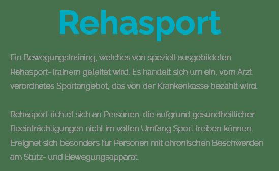 Reha-Sport für  Wöbbelin